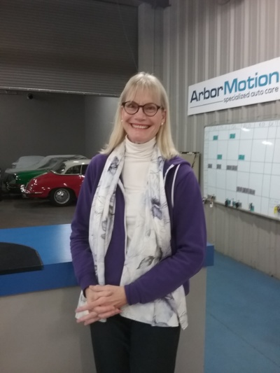 "Barbara Olencki - ArborMotion's ""Customer of the Month"" (March 2018)"
