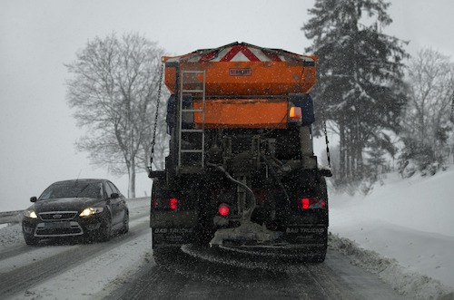 How to Share the Road with Snowplow Drivers